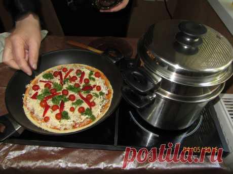 Пицца за 12-14 минут в сковороде iCook   восхитительна Заказать https://www.amway.ua/ru/user/odin_02