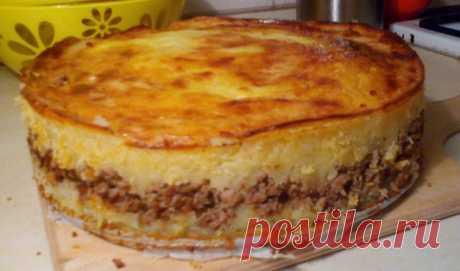 Очень вкусная картофельная запеканка с мясом Очень вкусная картофельная запеканка с мясом полюбится вам за простоту приготовления, оригинальное...