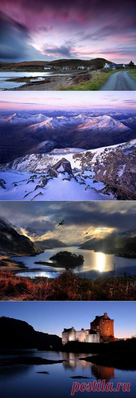 10 красивейших мест Шотландии.
