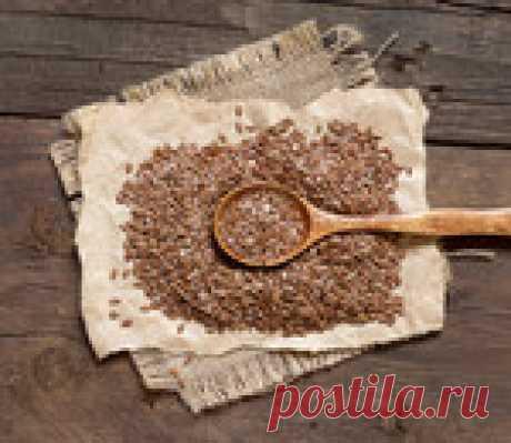 Настой из семян льна для очищения сосудов
