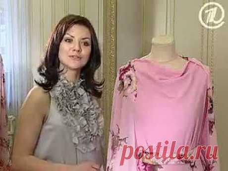 ▶ Ольга Никишичева. Платье-цветок - YouTube