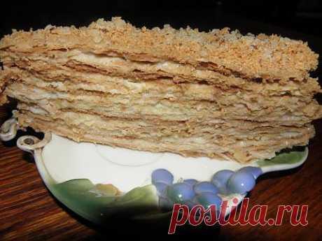"торт ""НАПОЛЕОН"" мой. | 4vkusa.ru"