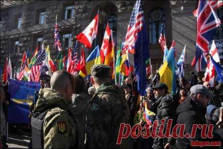 По поводу флагов... Какие там нельзя подымать?