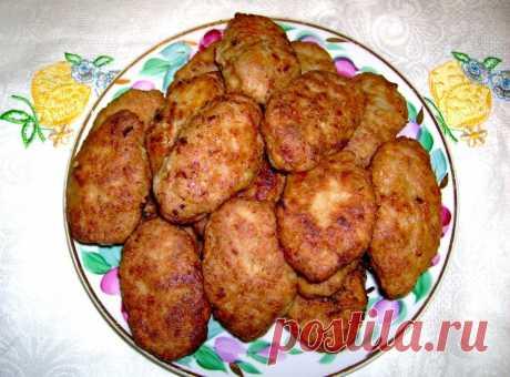 Котлеты картофельно-мясные - рецепт с фото - как приготовить - ингредиенты, состав, время приготовления - Дети Mail.Ru
