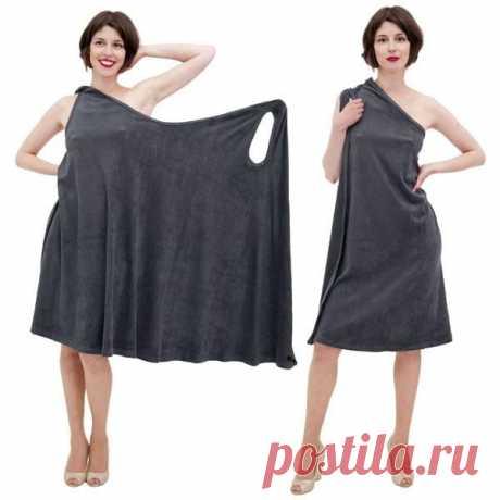 Simple dress for the house - found a pattern   Varvarushka-Rukodelnitsa