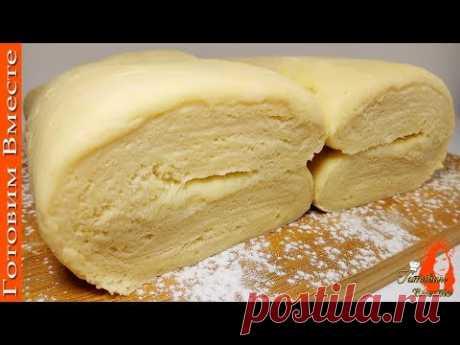 Слоёное дрожжевое тесто без возни! Супер быстро и просто!
