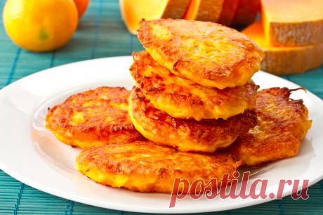 Творожно-тыквенные оладьи с изюмом рецепт – европейская кухня: завтраки. «Еда»