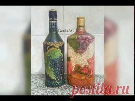 Бутылочки для кухни   Страна Мастеров