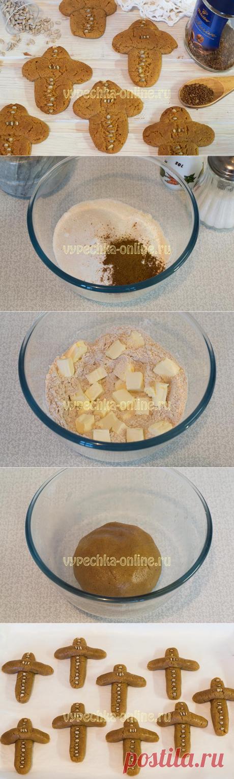 ✔️Печенье Кресты на Крещение сдобное с мёдом – рецепт с фото