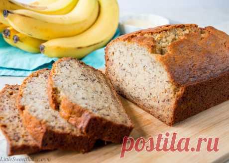 Банановый хлеб. Очень легкий рецепт, пробуем! - Journalzen Домашняя выпечка – это предмет гордости для каждой хозяйки. Однако настоящим достижением является свой собственный хлеб. И хотя многие считают, что банановый хлеб больше напоминает сладкий пирог или десерт, нежели хлеб, который можно есть с маслом и колбасой, он является одним из самых популярных сладких хлебов в Соединенных Штатах. Его единственное отличие от обычного белого...