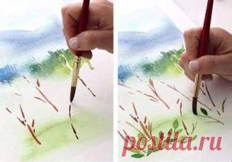 Красивая зарисовка пошагово — Сделай сам, идеи для творчества - DIY Ideas