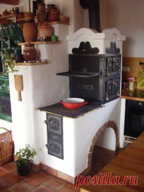 Русская печь для любителей готовить