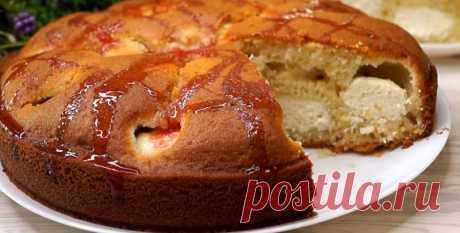 Как вкусно приготовить пирог с творожной начинкой