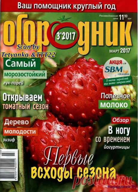 Огородник 3 2017 | ПЕРЕДЕЛКИ.рУ