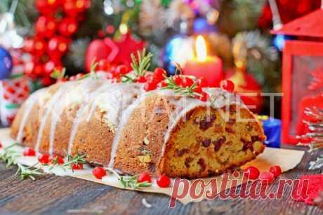 Рождественский кекс с изюмом и сухофруктами. Пошаговый рецепт с фото | Кушать нет