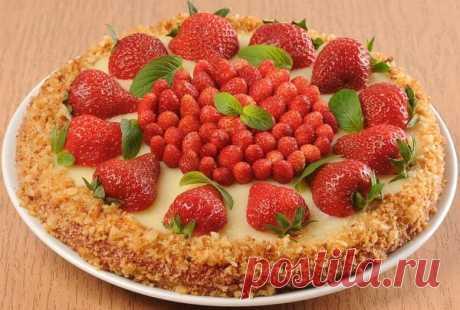 Десерты из дачной клубники от Журнала «Люблю Готовить» / 7dach.ru