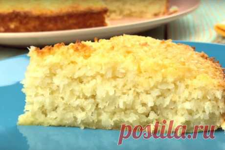 Кокосовый пирог - БАУНТИ отдыхает ! — Кулинарная книга - рецепты с фото