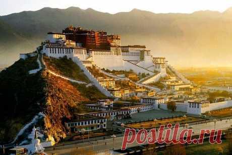 Дворец Потала, Тибет, Китай - Путешествуем вместе