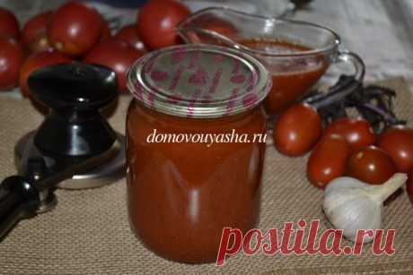 Томатный соус с базиликом на зиму. Рецепт с фото | Народные знания от Кравченко Анатолия