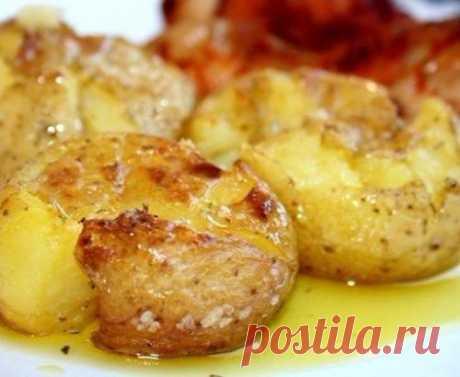 Картофель, запеченный по-португальски.   Шедевры кулинарии
