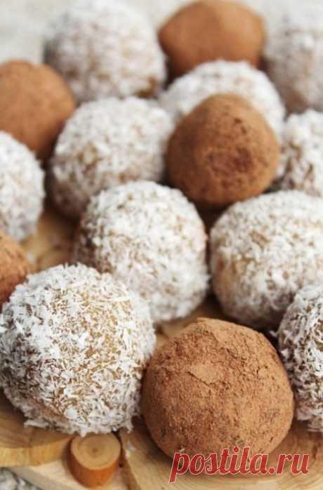 Простые и нежные конфеты из кешью — Мегаздоров