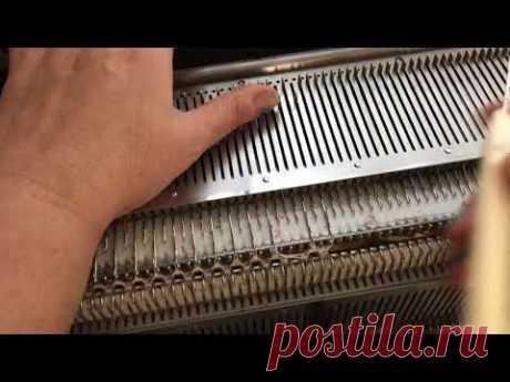 Убавки на английской-жемчужной резинке - YouTube
