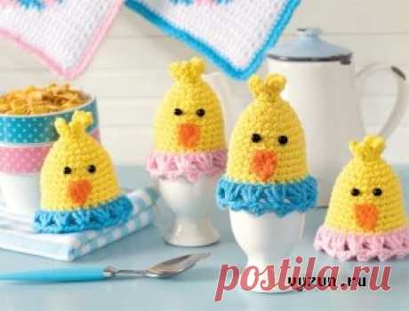 "Hot-water bottles for Chickens eggs"" Вязун.ру - the knitted world the hands! We knit clothes and toys a hook and spokes!"