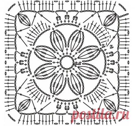 Этот цветочный мотив пригодится каждой вязальщице! | Школа Вязания Ирины Невзоровой | Яндекс Дзен
