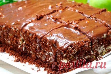 Бомбический домашний торт, не нуждается в пропитке Домашний торт, который не нуждается в пропитке и готовится быстро и всегда получается со 100% результатом. Крем можно брать любой на Ваш вкус, я сегодня