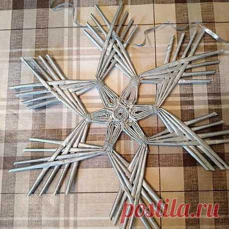 Тысяча и один способ сделать красивую снежинку из бумаги