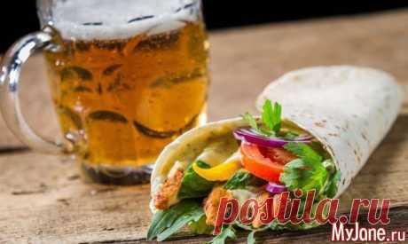 Пивная вечеринка - рецепты закусок, закуски к пиву, еда под пиво