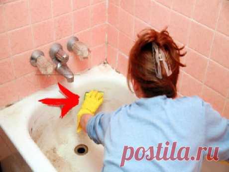 Ванна снова будет сверкать белизной, надо только... | СОВЕТОФФ | Яндекс Дзен