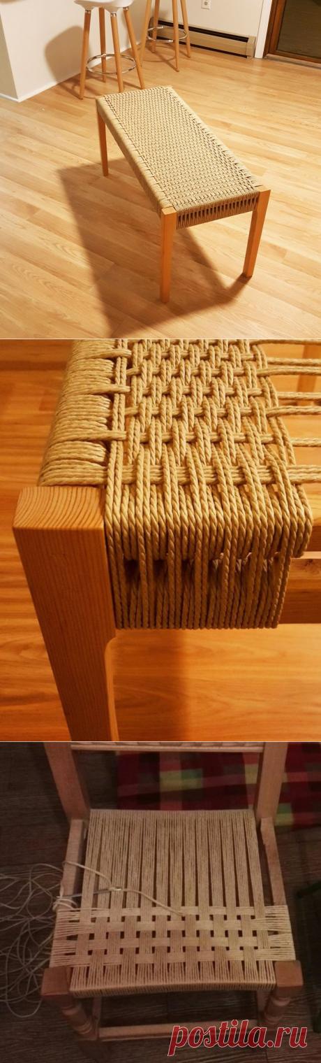 Идеи создания плетёной мебели своими руками — Сделай сам, идеи для творчества - DIY Ideas