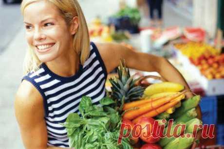 Топ-10 заповедей здорового питания - Счастливые заметки