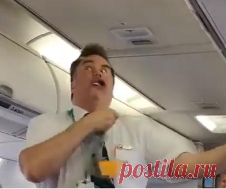 Самый прикольный стюард в мире