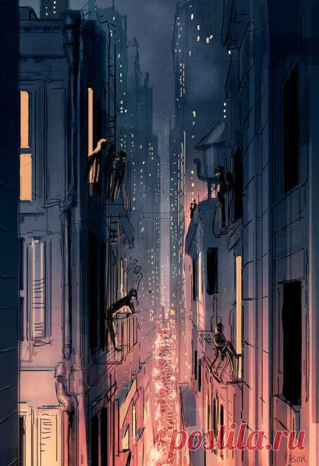 Off Broadway Front row. by PascalCampion on DeviantArt