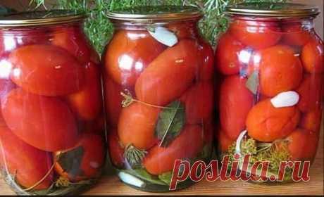 Рецепт вкусных сладких «Царских» помидор без уксуса - Скатерть-Самобранка - медиаплатформа МирТесен