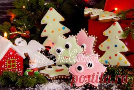 Рождественские пряники - рецепт с фото