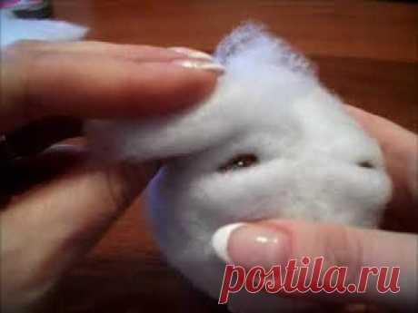 Урок по изготовлению лица куклы
