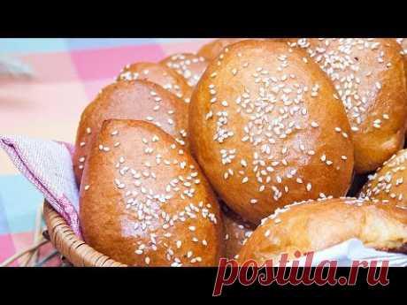 Пирожки с капустой и с мясом в духовке из сдобного дрожжевого теста – Коллекция Рецептов