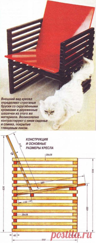 Деревянное кресло своими руками: инструкция от мастеров