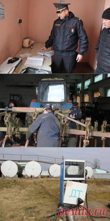 Подготовка к посевной: в Островецком районе водителей «продули» за день до выезда. Это обнаружили во время проверки записей в журнале - grodno24.ru