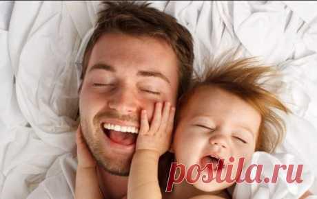 10 правил воспитания современного отца / Малютка