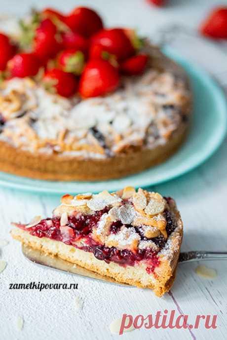 Ягодный тарт | Простые кулинарные рецепты с фотографиями
