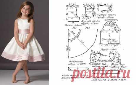 выкройки детских платьев рост 92 см бесплатно - Поиск в Google