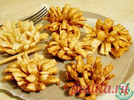 """Хворост """"Хризантемы"""" и не только – кулинарный рецепт"""
