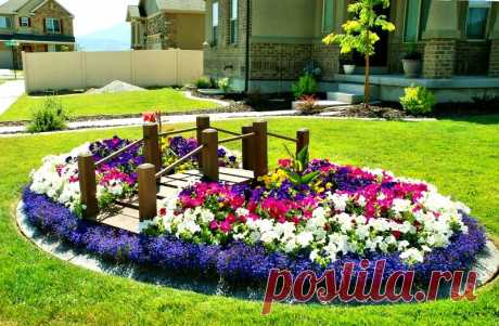 """How to make a beautiful bed at the dacha. Design and types of beds\"""" Female World"""
