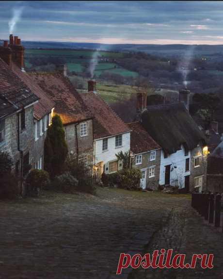 Молчаливый город 💫💤 🔮 Ховис Хилл, Дорсет, Великобритания