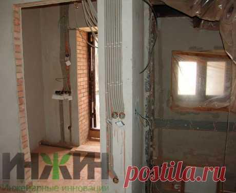 Монтаж электропроводки в кирпичном доме 478