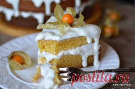 Pumpkin cake • house recipe. With a photo!